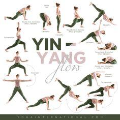 A Short and Sweet Yin-Inspired Vinyasa Sequence Ashtanga Vinyasa Yoga, Bikram Yoga, Iyengar Yoga, Yin Yoga Sequence, Yoga Sequences, Yin Yoga Poses, Yoga Fitness, Fitness Tips, Fitness Motivation