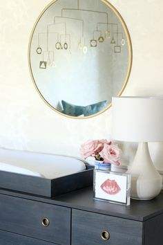 A Sweet, Serene and Sophisticated Nursery!   One Room Challenge - The REVEAL - Chris Loves Julia