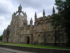 King's College at the University of Aberdeen.