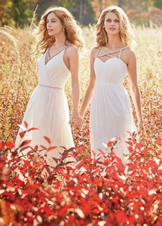 Bridesmaids and Special Occasion Dresses by Hayley Paige Occasions - Style jh5622 and 5623