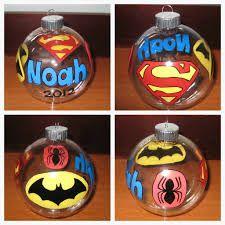 superhero ornaments - Google Search