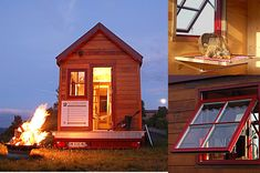 TINY HOUSE CONCEPT - by TINY HOUSE CONCEPT - BERARD FREDERIC | homify Tiny House France, Buffet, Interior Design Trends, Construction, Home Interior, Style At Home, Location, My Dream Home, Home Projects