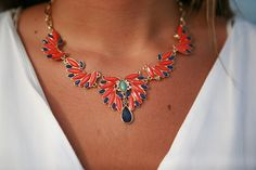 @cfashionista #collegefashionista #statementpiece #necklace @nordstrom