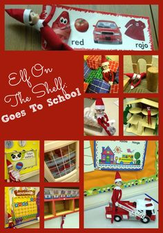 Elf On The Shelf Goes To School - 12 great ideas to use in the classroom