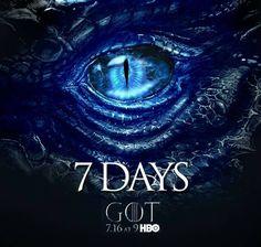 7 days to game of thrones season 7 #got #s7 #countdown