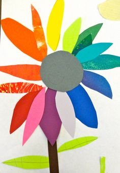 Colorwheel art lesson for primary