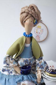 Куклы Тильды ручной работы. Ярмарка Мастеров - ручная работа Кукла Тильда блондинка. Handmade.