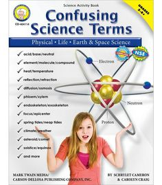 Confusing Science Terms Resource Book