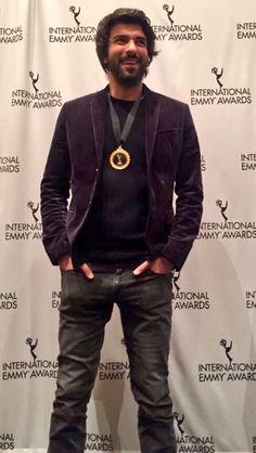 Engin at Emmy's Medal Ceremony 2015