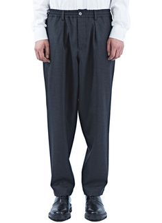 Marni Oversized Twisted Flannel Pants