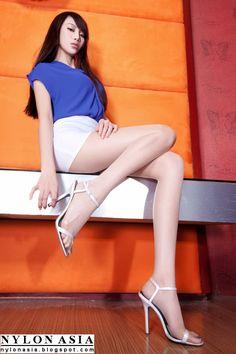 Asian Feet In Pantyhose