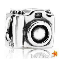 Pandora Silver Camera 790961 Charm from Beadazzle.co.uk - Pandora Charms, Beads, Bracelets, Genuine | 790961