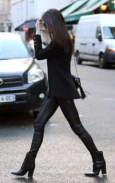Kendall Jenner in Paris.
