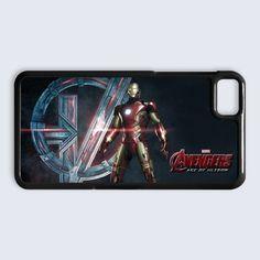 Avengers Age of Ultron Ironman blackberry Z10 Case $16.89  #Accessories #Case #CellPhone #BlackBerryZ10 #hardcase #plasticcase #hardcover #Theavengers #ultron #ageofultron #hulkbuster #quicksilver #hulk #ironman #marvel #marvelavengersalliance #thor #movie #comics #superhero #hydra #captainamerica #shield #scarletwitch