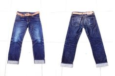 Akaime A710XX (7 Months, 2 Washes, 2 Soaks)  #denim #jeans #selvedge #indigo #fashion #menswear #rugged #mode #style