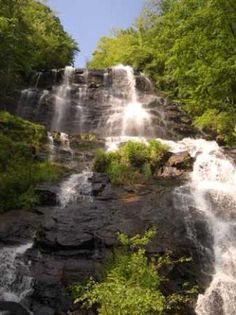 Visit Amicalola Falls State Park in Dawsonville, GA.  Great for hiking, backpacking, and other outdoor adventures!  #dawsonville #georgia
