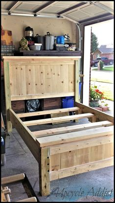 Woodworking plans 17 Ideas farmhouse diy headboard furniture plans Bracelets – Fashionable and affor Pallet Furniture, Furniture Projects, Furniture Makeover, Home Projects, Bedroom Furniture, Diy Bedroom, Furniture Stores, Furniture Companies, Furniture Dolly