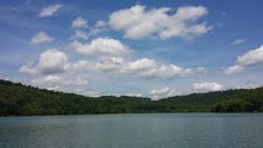 Clouds, water & a gorgeous  view, Norris  Lake I love you!