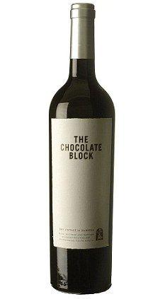 The Chocolate Block wine