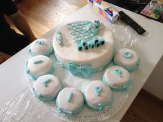 Torta battesimo Birthday Cake, Desserts, Food, Tailgate Desserts, Birthday Cakes, Deserts, Essen, Dessert, Yemek