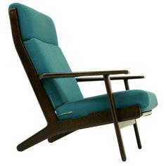 Oak Lounge Chair by Hans Wegner