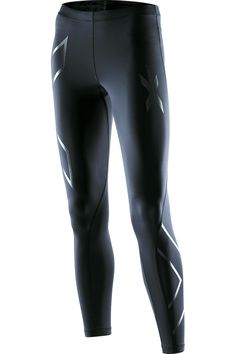 A saviour when training for a half marathon. Women's recovery compression tight by 2XU.