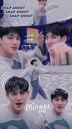 The8, Mingyu Wonwoo, Woozi, Seventeen Memes, Mingyu Seventeen, Seventeen Debut, K Pop, Sea Wallpaper, Wallpaper Lockscreen