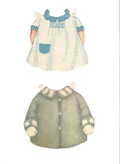 Here's Baby sister from 1929 by Queen Holden. She even comes with a cute little doll that ha...