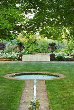 key-shaped pool