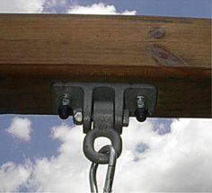 Galvanized Ductile Iron Wood Beam Hanger