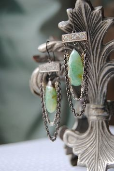 RESERVE for ColleenRhinestone and Briolette by ChristineWallace  love these
