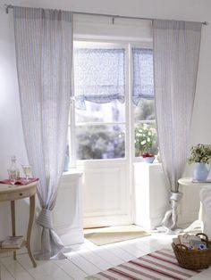 details zu wei es rollo raffrollo roll gardine 120x90 tilda shabby landhaus skandinavisch. Black Bedroom Furniture Sets. Home Design Ideas