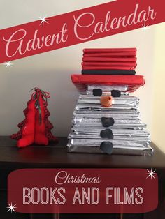 An advent calendar of Christmas books. Open a Christmas book a day during advent. A fun way to get in the festive spirit and create a love of reading.
