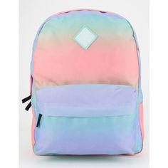 Vans Realm Backpack (£24) ❤ liked on Polyvore featuring bags, backpacks, multi, shoulder strap backpack, padded backpack, vans backpack, rucksack bag and pocket bag
