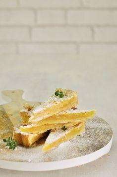 Lemon bars, receta de The Hummingbird Bakery. Receta en español