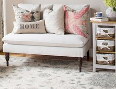 Pastoral Romance - Rugs & Pillows with Countryside Allure