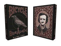 Edgar Allan Poe playing cards