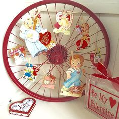 Vintage #valentines have a way of just 'rolling' their way into my heart!  #collections #makesmehappy #love