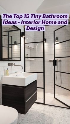 Tiny Bathrooms, Bathroom Small, Master Bathroom, Minimalist Small Bathrooms, Modern Small Bathrooms, Master Master, Modern Bathroom Design, Bathroom Interior Design, Bathroom Design Inspiration