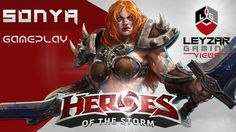 Heroes of the Storm (Gameplay) - Pink Sonya (HotS Sonya Gameplay Unranke...