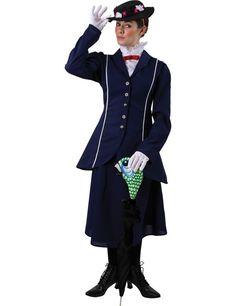 Magische Nanny Vrouw Kostuum ==> Feestkleding 365!