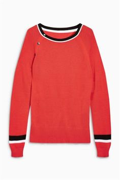 Red Popper Sweater