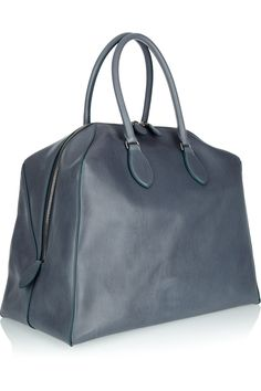 Alaïa Structured leather tote - 50% Off Now at THE OUTNET