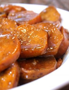 It's been a long time coming, but the time is here- and I MUST share my recipe for some good old fashioned baked candied yams, soul food style! I… (Soul Food Recipes) Slow Cooker Recipes, Crockpot Recipes, Cooking Recipes, Yam Recipes, Vegan Soul Food Recipes, Soul Food Meals, Healthy Recipes, Soul Food Potato Salad Recipe, Cooking Yams