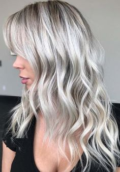 31 Famous Platinum White Blonde Hair Color Shades for 2018. Try these amazing shades of platinum blonde hair colors if you want to stand out yourself in the whole crowd. This is one of the coolest new hues of hair colors for women to sport in these days. We highly recommend you to make you look cute and stunning by wearing these amazing styles of platinum blonde hair colors.
