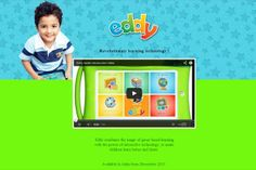 Eddy, an Android-powered tablet just for toddlers.