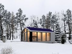 A Ukranian company has recently launched the world's first autonomous mobile prefabricated homes.