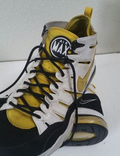 Nike 312543-171 Black Yellow Air Max 2 '94 US 11 Basketball Gym Sneakers Shoes   Clothing, Shoes & Accessories, Men's Shoes, Athletic   eBay!