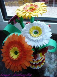 Sergal's quilling art Paper Quilling, Flower Art, Paper Flowers, Art Projects, Angels, Plastic, Scrapbook, Fabric, People