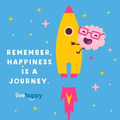 Happiness is a lifelong journey 🚀 that is different for each of us. How we define and measure our own happiness is very personal. Happiness is like a smile. Happiness Quotes, Happy Quotes, Life Quotes, Live Happy, Happy Thoughts, Acting, Journey, Smile, Photo And Video